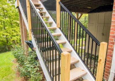 Deck Stairs Modeling