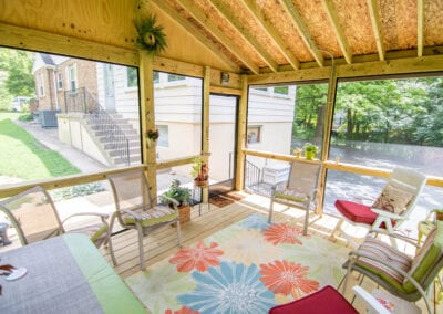 Wooden Glassed Deck