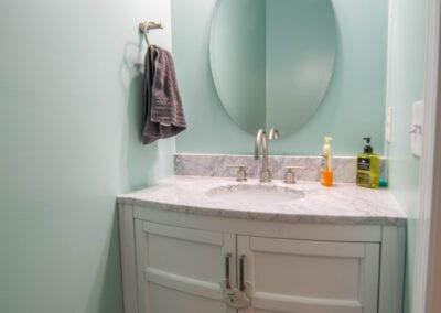 Aqua Walls and Cozy fit Bathroom Modeling